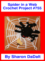 Spider in a Web Crochet Project #755