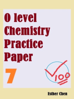 O level Chemistry Practice Papers 7