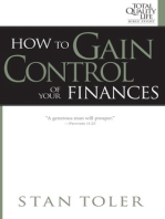 How to Gain Control of Your Finances