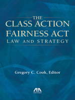 The Class Action Fairness Act: Law and Strategy