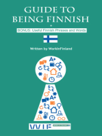 Guide to Being Finnish + BONUS: Useful Finnish Phrases and Words