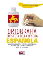 Ortografía correcta del español