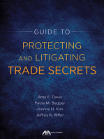 Guide to Protecting and Litigating Trade Secrets
