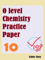 O level Chemistry Practice Papers 10