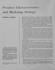 Study on Product Characteristics and Marketing Strategy