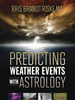 Predicting Weather Events with Astrology