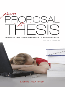 From proposal to thesis: Revised edition