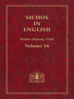 Sichos In English, Volume 16