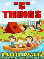 """C"" Things (A Children's Picture Book)"