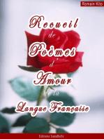 Recueil de poèmes d'Amour de la langue française