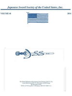 Japanese Sword Society of the United States 2014 Journals