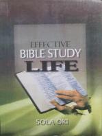 Effective Bible Study Life