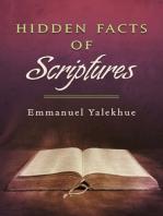 Hidden Facts of Scriptures