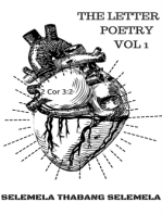 The Letter Poetry Vol 1