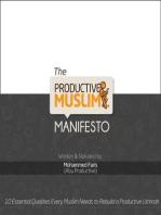 The Productive Muslim Manifesto