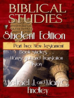 Biblical Studies Student Edition Part Two