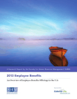 Research Report on Employee Benefits Offerings in the U.S
