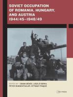 Soviet Occupation of Romania, Hungary, and Austria 1944/45–1948/49