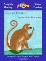 Bilingual Tale in Spanish and English: Naughty Monkey Helps Mr. Plumber - Mono Travieso ayuda al Sr. Fontanero