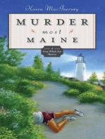 Murder Most Maine