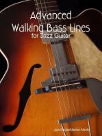Advanced Walking Bass Lines for Jazz Guitar