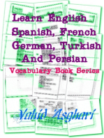 Learn English, Spanish, French, German, Turkish and Persian