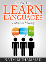 How to Learn Languages