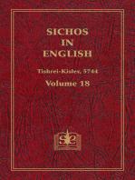 Sichos In English, Volume 18