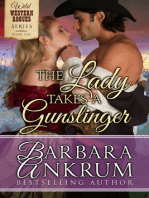 The Lady Takes A Gunslinger (Wild Western Rogues Series, Book 1)