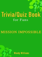 MISSION: IMPOSSIBLE (TRIVIA/QUIZ BOOK FOR FANS)