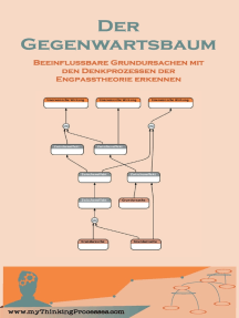 Der Gegenwartsbaum: Beeinflussbare Grundursachen mit den Denkprozessen der Engpasstheorie erkennen
