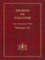 Sichos In English, Volume 21
