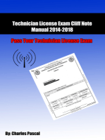 Technician License Exam Cliff Note Manual 2014/2018