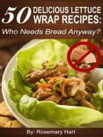 50 Delicious Lettuce Wrap Recipes