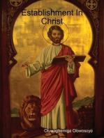 Establishment In Christ