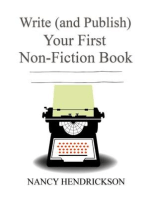 Write (and Publish) Your First Non-Fiction Book