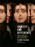 Identity and Difference: John Locke and the Invention Of Consciousness