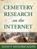 Cemetery Research on the Internet for Genealogy (Genealogy Tips, #2)