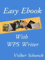 Easy Ebook With WPS Writer