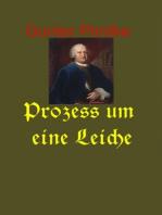 Prozess um eine Leiche