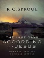 The Last Days according to Jesus