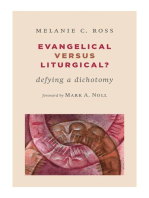 Evangelical versus Liturgical?