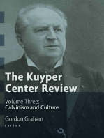 The Kuyper Center Review, Vol 3