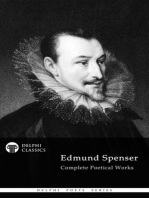 Delphi Complete Works of Edmund Spenser (Illustrated)