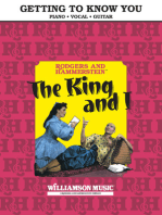 Getting to Know You (From The King and I)