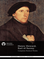 Delphi Complete Works of Henry Howard, Earl of Surrey (Illustrated)