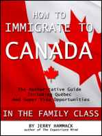 How to Immigrate to Canada in the Family Class