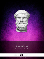 Complete Works of Lucretius (Illustrated)