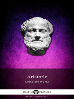 Delphi Complete Works of Aristotle (Illustrated)