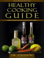 Healthy Cooking Guide Variety of Foods to Feel Good and Maintain Your Health